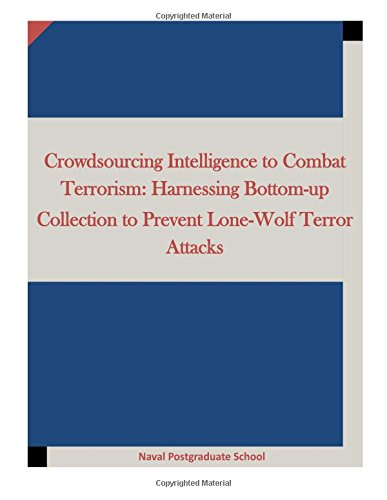 Crowdsourcing Intelligence to Combat Terrorism: Harnessing Bottom-up Collection to Prevent Lone-wolf Terror Attacks
