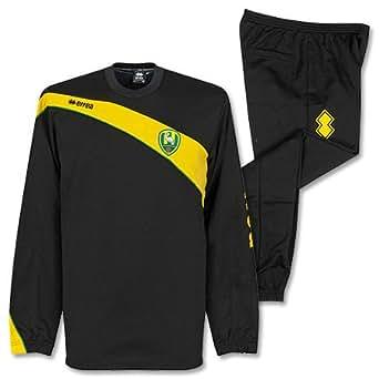 ADO Den Haag Black Training Suit 2013 2014 - XL