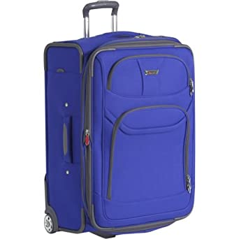 Delsey Luggage Helium Fusion Light 25 Inches Expandable Upright