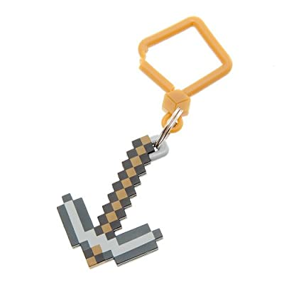 Official Minecraft Exclusive Pickaxe Toy Hanger Keychain by U.C.C. / MOJANG