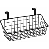 Spectrum 56124 Over The Cabinet Door Grid Basket, Small, Bronze
