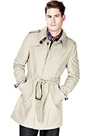Autograph Cotton Rich Trench Coat with Stormwear™