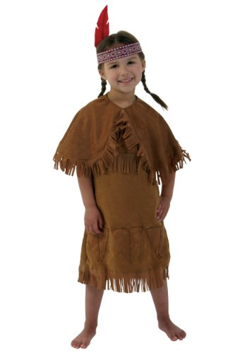 Little Girls' American Indian Toddler Costume Toddler