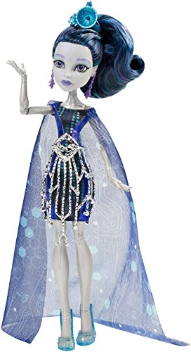 Monster High - Chw63 - Poupée - Elle EeDee - Guest Star Boo York Boo York