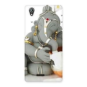 Enticing Ganesha Ji Multicolor Back Case Cover for Lava Iris 800