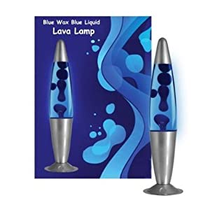 2 X Lava Lamps, Blue by lava lamps