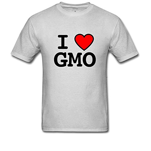 lcoup Men's I GMO Basic Funny O-neck T-Shirts M Gray (Gmod Figure compare prices)