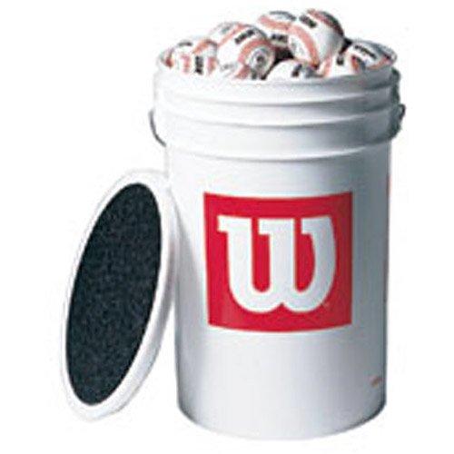 Wilson A 1010 Blems Bucket of Baseballs (3-dozen baseballs)