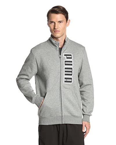 PUMA Men's Fleece Track Jacket