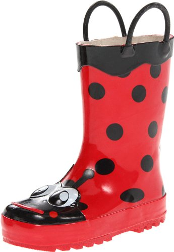 Western Chief Ladybug Boot (Toddler/Little Kid/Big Kid),Red,6 M Us Toddler