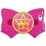 バンダイ 美少女戦士セーラームーン iPhone5/5s対応 リボンジャケット クリスタルスターブローチ SLM-11B