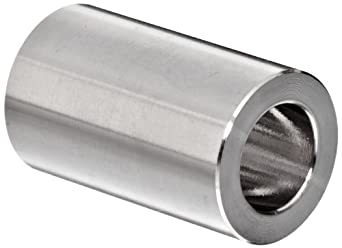 "Parker Weld-Lok 10 HW-SS Stainless Steel 316 Socket Weld Tube Fitting, Reducing Union, 5/8"" Tube OD, 0.50"" Bore"
