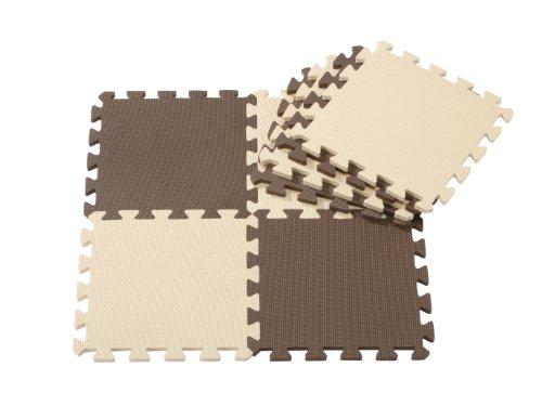 CB Japan Joint mat series matte 8 piece set chocolate