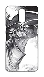 Motorola Moto G4 Plus Hard Case Back Cover - Printed Designer Cover for Motorola Moto G4 Plus - BTMMG4PBLKB155