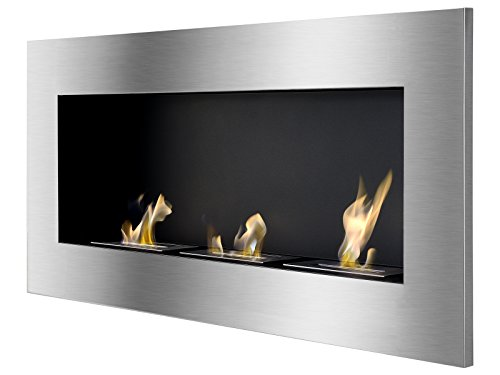 Ventless Ethanol Fireplace - Optimum, Recessed Ethanol Fireplace By Ignis