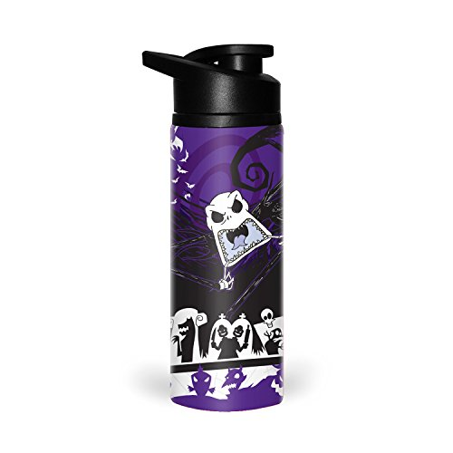 silver-buffalo-nb9389st-disney-nightmare-before-christmas-nbc-jack-scary-face-stainless-water-bottle