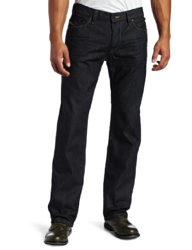 Diesel Men's Viker Regular Slim Straight Leg Jean 0088Z from Diesel