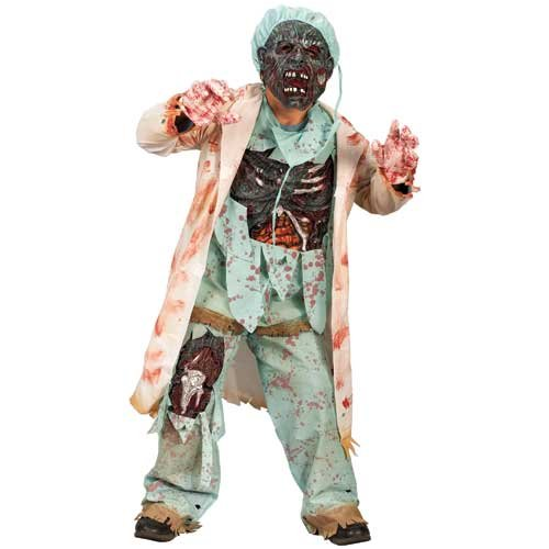 Zombie Doctor Costume Boy - Child (8-10)