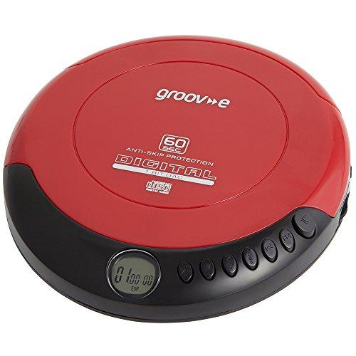 groov-e-gvps110rd-serie-retro-numerique-portable-lecteur-cd-walkman-neuf