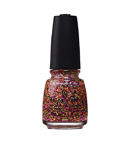 China Glaze 82609 Point Me To The Party Smalto per Unghie con Indurente, 14 ml