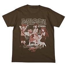 のんのんびより カントリー Tシャツ ダークブラウン サイズ:L