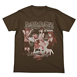 のんのんびより カントリー Tシャツ ダークブラウン サイズ:M