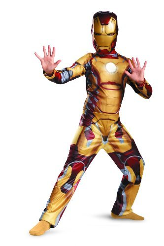 Marvel Iron Man 3 Mark 42 Boys Classic Costume, 3T-4T (Iron Man Kids Costume compare prices)