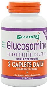 Windmill Health Products Glucoflex Glucosamine and Chondroitin Caplets, 120-Count Bottle