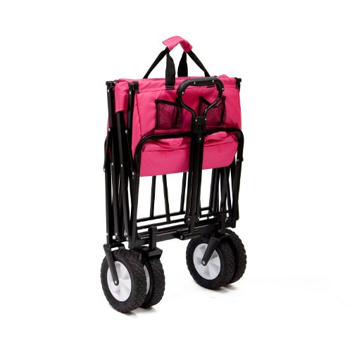 Pink Mac Sports Collapsible Folding Utility Wagon Garden ...