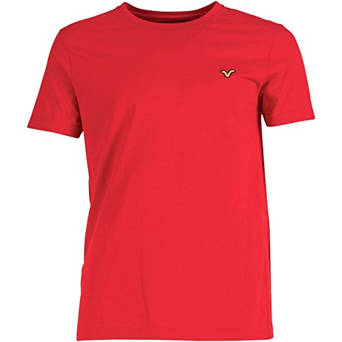 Voi Jeans Herren Hartford T-Shirt Rot - L To Fit Chest 38-40 Euro Large