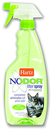 Hartz Nodor Litter Spray, Clean Scent, 17 FL OZ