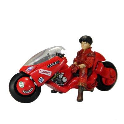 K&M AKIRA2(アキラ2nd) 色彩版 金田とバイク(Ver.2) カプセル・ガシャポン