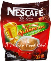 Nescafe Rich Aroma Instant Coffee - 3 in 1 - 30 Packets (30x19.4g)