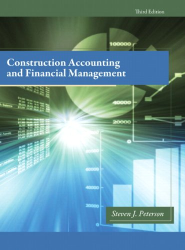 Construction Accounting & Financial Management (3rd Edition)