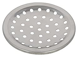 SHRUTI Stainless Steel Drain Cover (4 cm x 4 cm x 2 cm, Metallic, 1636)