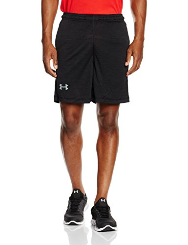 "Under Armour Men's Raid Printed 8"" Shorts, Black (003), XX-Large"