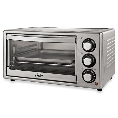The Smart Oster Brushed Stainless Steel Convection Countertop Oven