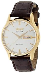 Tissot Visodate T0194303603101 - Reloj de mujer de cuarzo, correa de acero inoxidable color gris