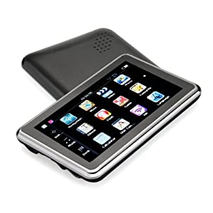 E-PLAZA 4.3 inch Car GPS Sat Nav MTK 4GB with Lifetime UK and EU Map Updates Sunshade Included