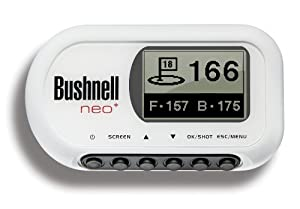 Bushnell NEO+ Limited Edition Golf GPS Rangefinder, White