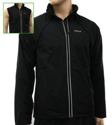 Reebok Mens EU Run SMU WINDSTOPPER Jacket Size S