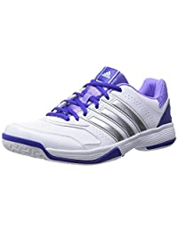 Adidas Women's Response Aspire Str W Ftwr White, Night Flash S15 And Light Flash Purple S15 Leather Tennis Shoes... - B00QHM3O30