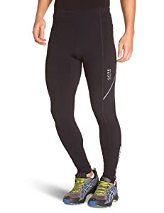 GORE RUNNING WEAR Essential Mens Tights - S, Black