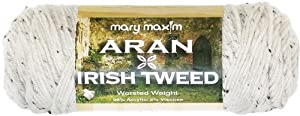 Mary Maxim 197-206 Aran Irish Tweed Yarn
