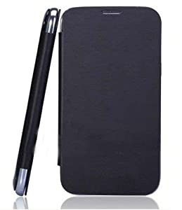 Generic Micromax Canvas Fun A76 Flip cover (Black) available at Amazon for Rs.189