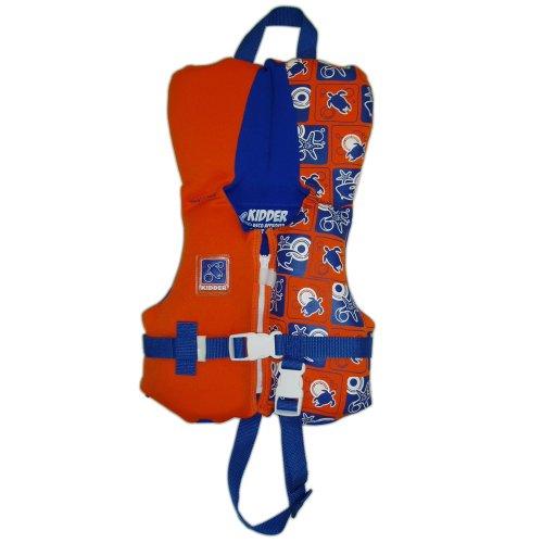 Kidder Infant Biolite Life Jacket, Orange