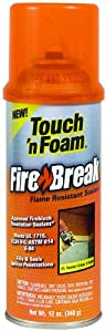 Touch 'n Foam 4004501212 FireBreak Flame Resistant Sealant