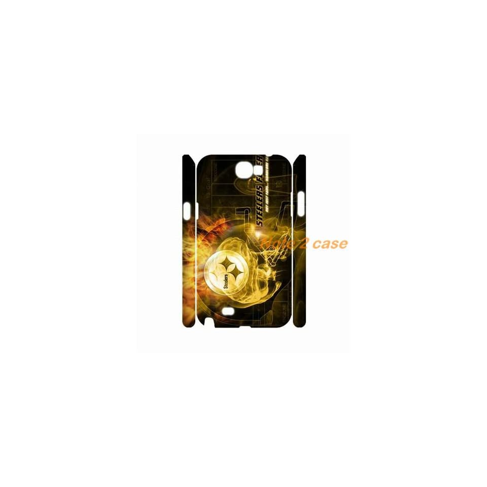 NFL Pittsburgh Steelers samsung galaxy note 2 case by hiphonecases Cell Phones & Accessories