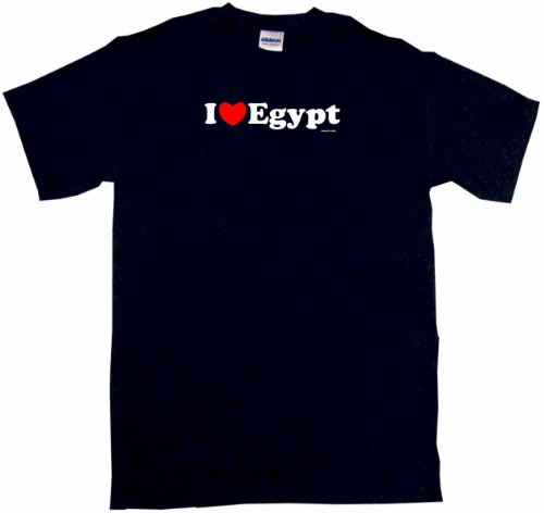 I Heart (Love) Egypt Kids T Shirt In 5 Colors 2T thru Youth XL