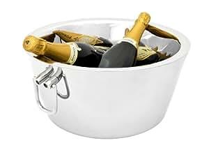 Zilverstad 8701050 Vasque à Champagne Double Paroi Acier Inoxydable